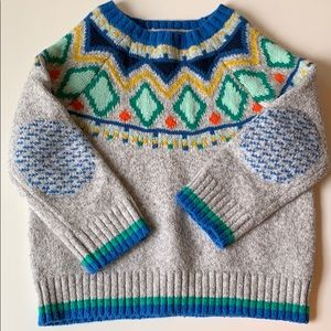 Cat & Jack fisherman style sweater